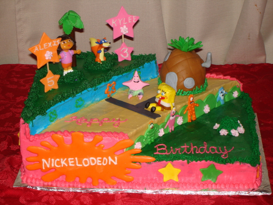 nickelodeon cake