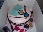 Fondant Fetish - Make Up cake