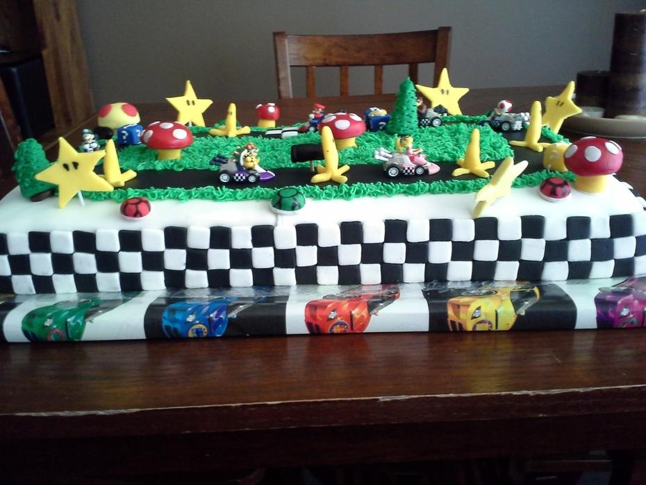 Super Mario  / Mario Kart Racing