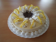 Lemon and yoghurt cake with very special Hungarian Zila Cake Mould