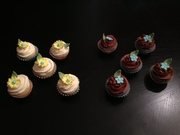 Flower Cupcakes for Mom