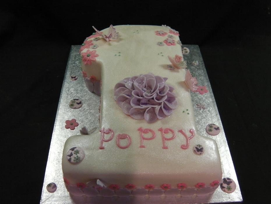 1st Birthday Cake Poppy