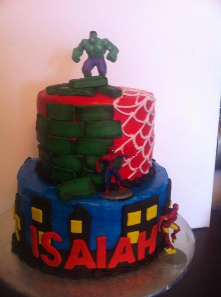 Avengers cake - Cake Decorating Community - Cakes We Bake