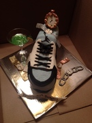 50th bday party cake