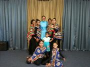 Ministering at the African dance
