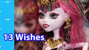 13 Wishes Monster High Dolls Tokyo Toy Fair