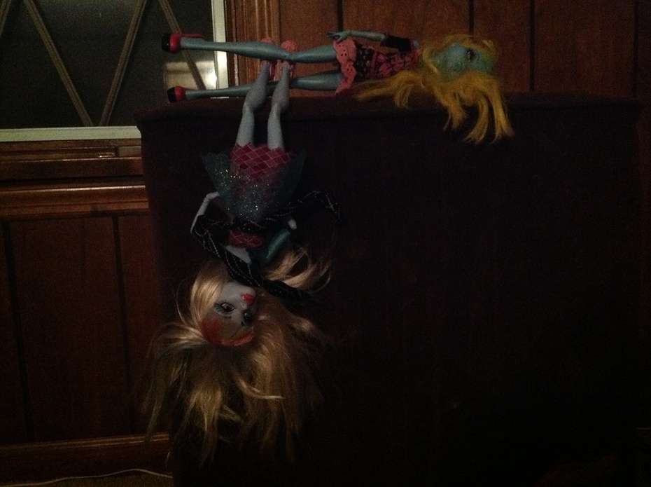 Just hanging around abbey and lagoona