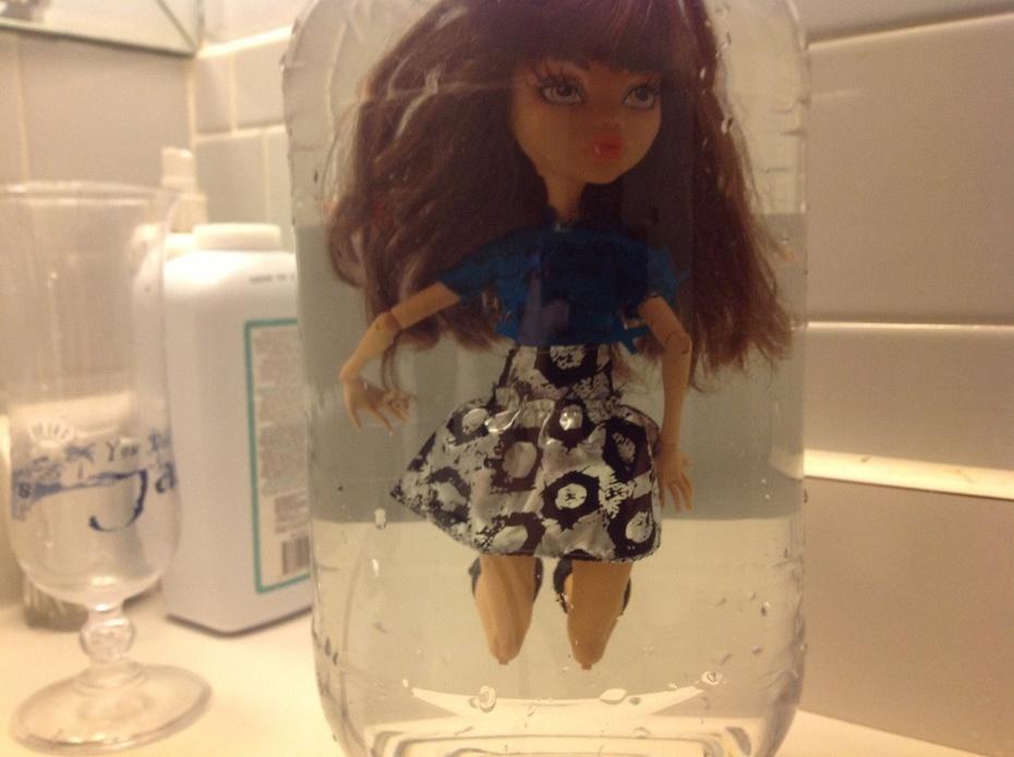 Modeling in a jar clawdeen