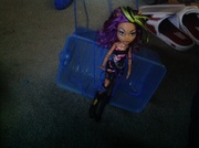 Clawdeen hanging around