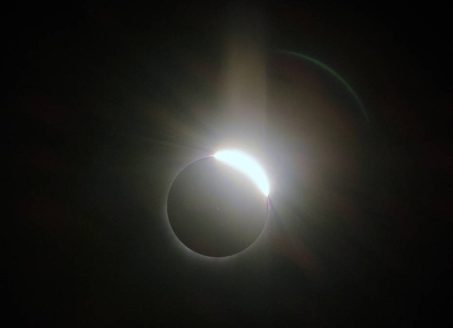 The Great American Total Solar Eclipse - More Diamond Ring