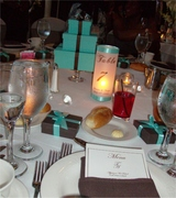 tiffany wedding tbl decor