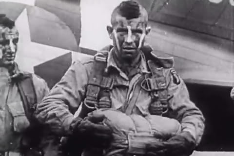 Mohawked Paratrooper