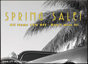 Spring Sale! All items 15% off!