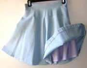 Vintage 2 Piece Skirt Suit-Soft Blue & Cream
