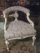 French Provincial Library chair