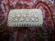Vintage Brooch Bone or Ivory