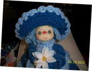 Lil Air Freshener Yarn Doll