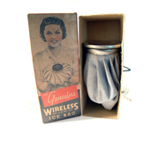 Vintage Advertising Collectible Wireless Ice Bag 1940s