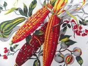 Wilendur Indian Corn Tea Towel - Unused