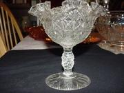 Fenton Glass Co. Compote