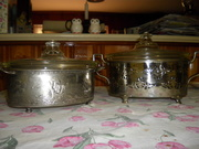 Early Pyrex casseroles dishes 20's and 30's