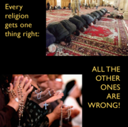Religions are right about one thing!
