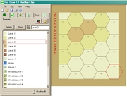 how to Woods and Hills with Hexdraw
