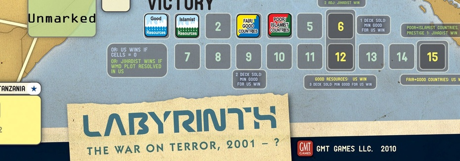 Labyrinth: the War on Terror Victory Track