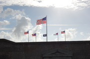 Scouts at Ft Sumter 2009