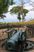 Disappearing Gun on Corregidor