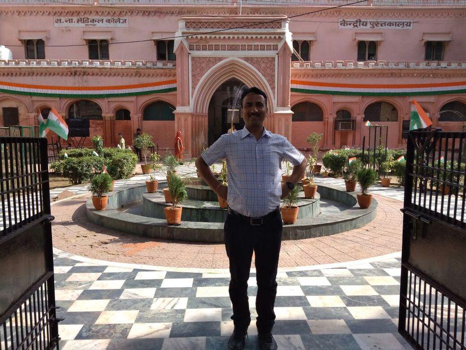 Central Library Sarojini Naidu Medical College Agra (UP Govt.)