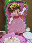 Fresita Princesa. 5to. Año de edad de Isabella