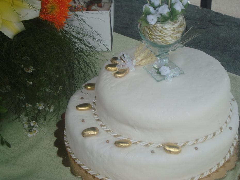 torta de primera comuniòn