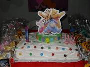 la decoracion, mi super torta