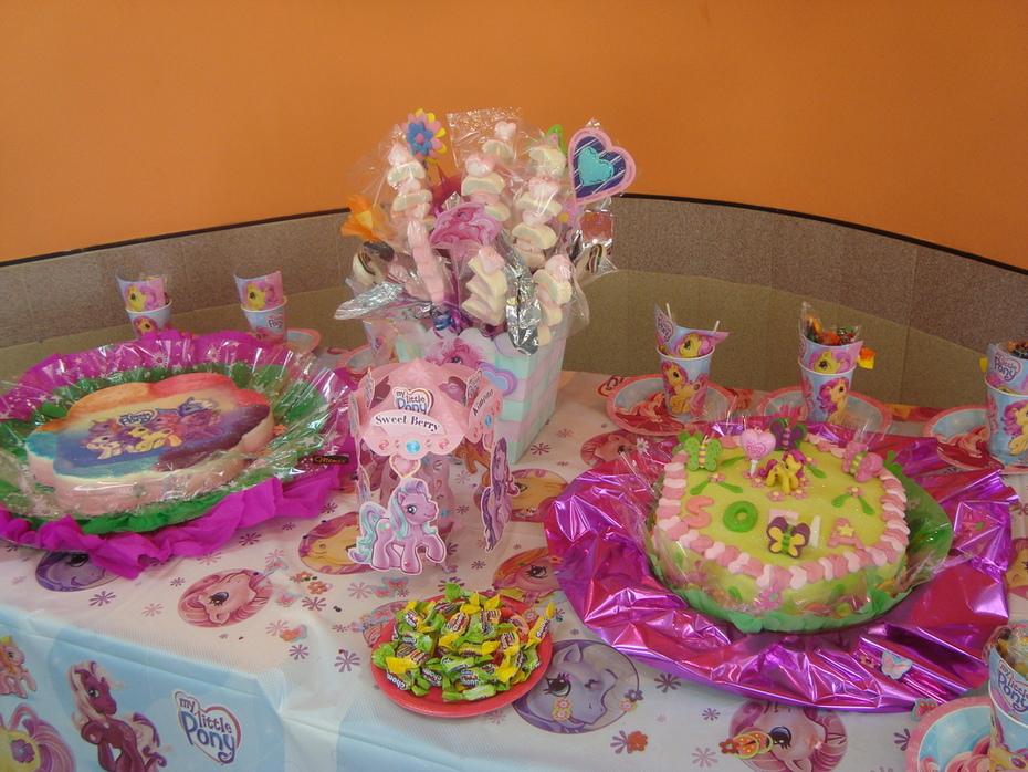cumpleaños de Little Pony