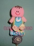 baby bombon para baby shower