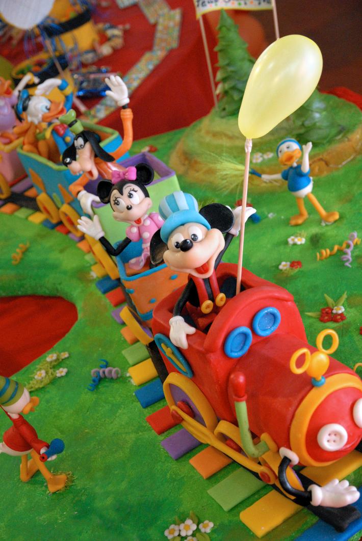 Tren de MICKEY Y SUS AMIGOS