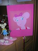 Piñata de Angelina para niñas