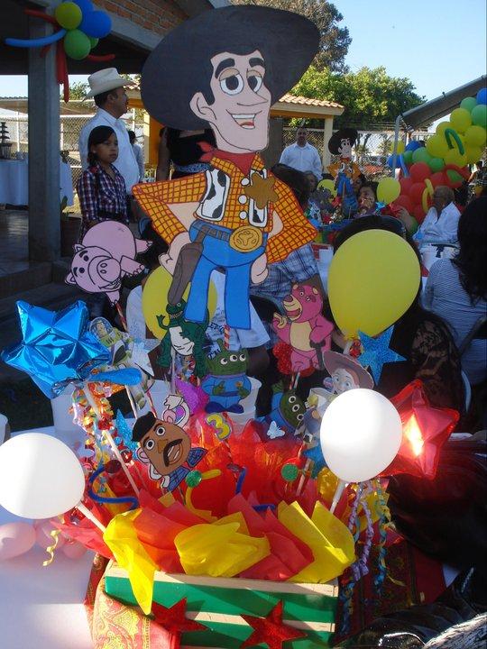 centro de mesa toy story 3