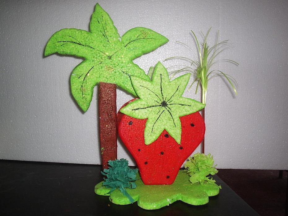 canastas de frutillita