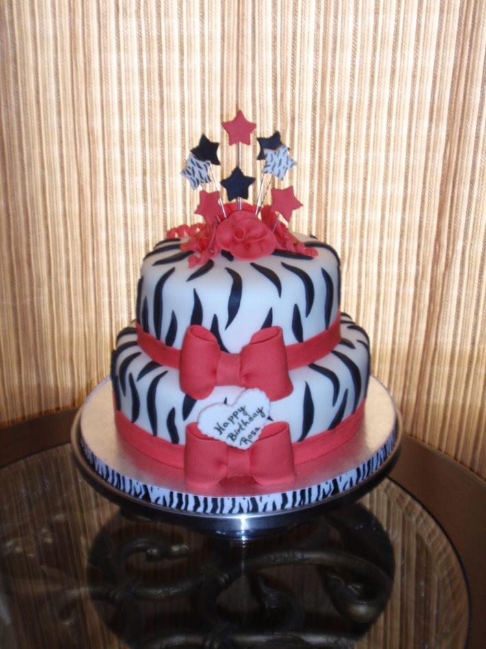 Torta de Zebra