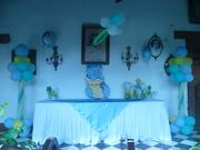 decoración para baby shower, realizada por creaciones y variesdades EYFRA, de francis campbell