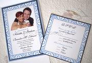 Photo Pocketfold Wedding Invitation