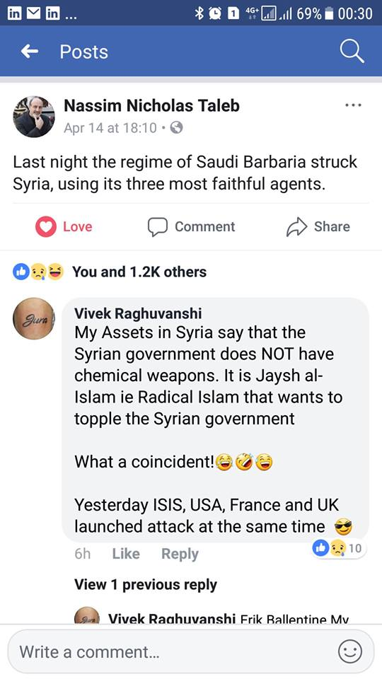 Faux Pas in Syria