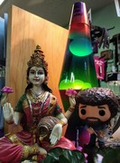 Lakshmi, Bob Ross and Eric Lavalamp