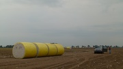 Yep, Round Modules Ready for Pick Up Harvest 2011
