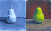 A pair of pears (study)