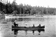 Rowing Competition in Western Canada