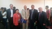 Reunión con docentes de la UV. de Chile