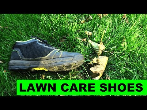 Kujo Yardwear Review - The best shoes for lawn care!